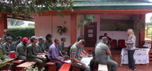 RENATRE Misiones capacitó trabajadores rurales en Jardín América