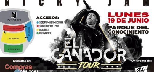 Nicky Jam llega a Posadas y podés conseguir tus entradas por Compras Misiones