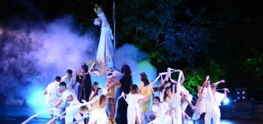 Reviví la majestuosa presentación de la obra Arcano de Viernes Santo que se realizó en la Cruz de Santa Ana