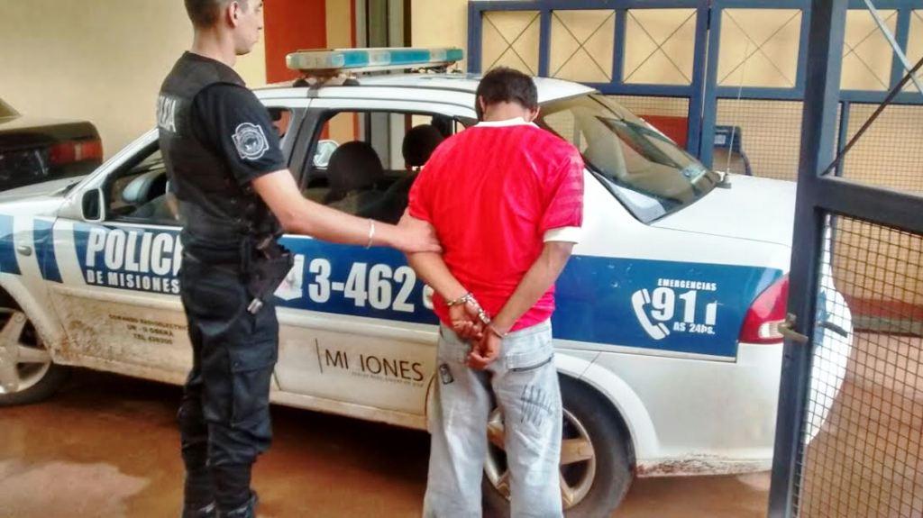 Oberá: un hombre fue detenido por amenazar de muerte a su pareja en Oberá