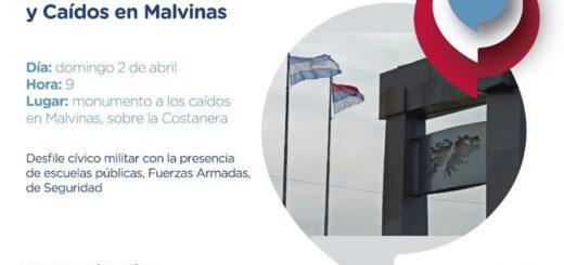 """Losada presidirá el acto en conmemoración del """"Día del Veterano de Guerra y Caídos en Malvinas"""" en Posadas"""