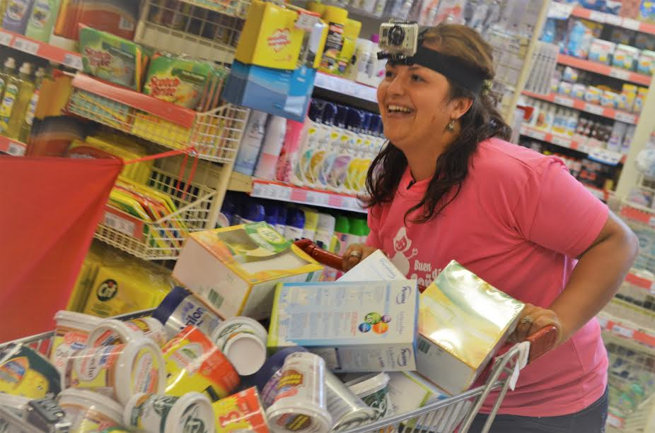 """Fabulosa compra en el desafío N°22 de """"Buen Día Señora"""" realizada por ama de casa de Campo Grande"""