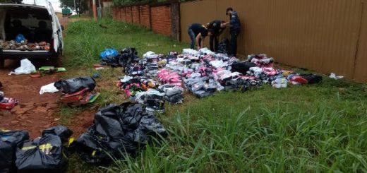 Detuvieron a un hombre con zapatillas de contrabando por 150 mil pesos en Iguazú