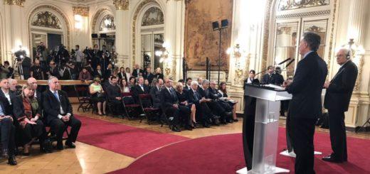 Passalacqua, Macri y el presidente de Italia juntos por acuerdos bilaterales de interés común