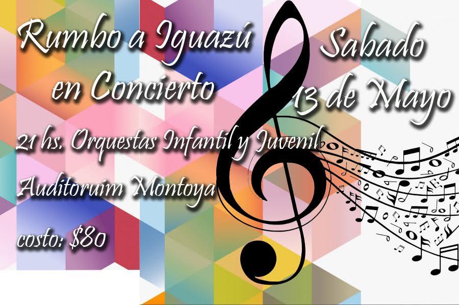 Rumbo a Iguazú en Concierto: Grillitos Sinfónicos se presentan este sábado con dos conciertos imperdibles