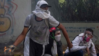 Otro muerto de un balazo durante una manifestación en Venezuela
