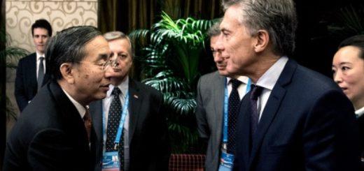 Macri invitó a invertir en el país a empresas líderes de China