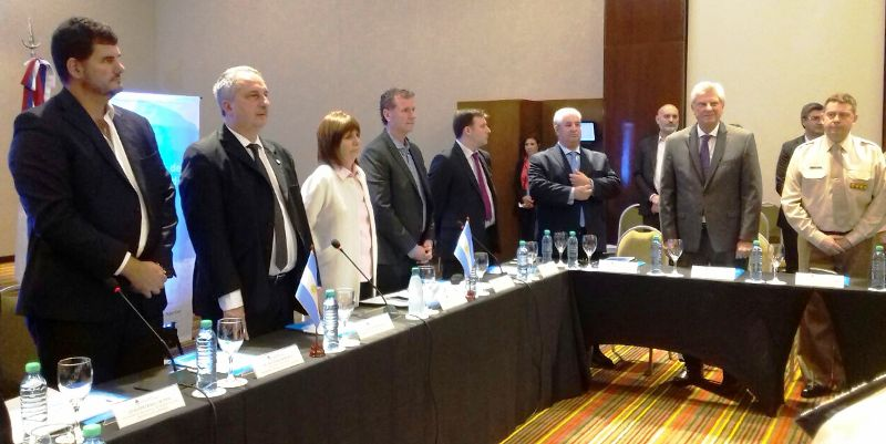 Con la presencia del Gobernador se puso en marcha la VIII Reunión Nacional del Consejo de Seguridad