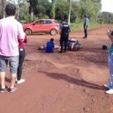 Posadas: un motociclista se encuentra grave tras un choque