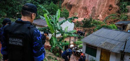 Brasil: Al menos cuatro muertos y 300 familias afectadas por varios aludes en Maceió