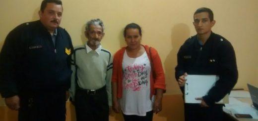 Abuelo estuvo perdido varias horas hasta que se produjo el reencuentro con su familia en Posadas