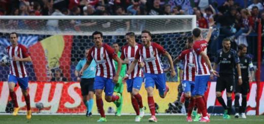 Champions League: el Atlético supera al Real Madrid y sueña con la final