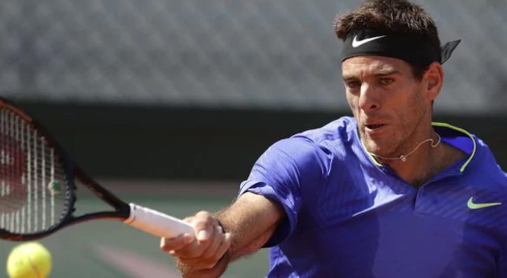 Roland Garros: Juan Martín del Potro apabulló en su debut a Guido Pella