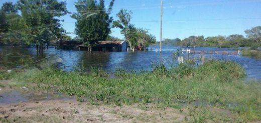 San Luis del Palmar, una de las localidades más castigadas por inundaciones y lluvias en Corrientes
