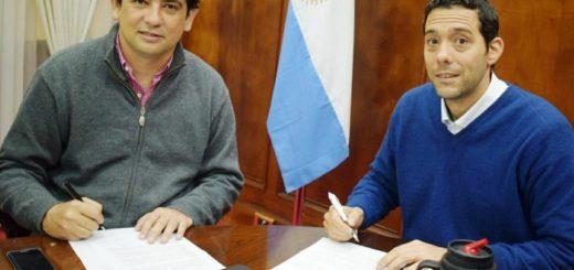 Marcelo Pérez y Joaquín Losada rubricaron un convenio de colaboración en Seguridad Vial
