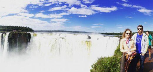 """Con las Cataratas del Iguazú como escenario, se filmó un documental para dar a conocer en Europa la cultura del mate, el """"alma"""" de los argentinos"""