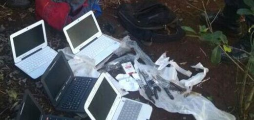 Robo en la Escuela 465 de Jardín América: La Policía ahora recuperó 5 notebooks