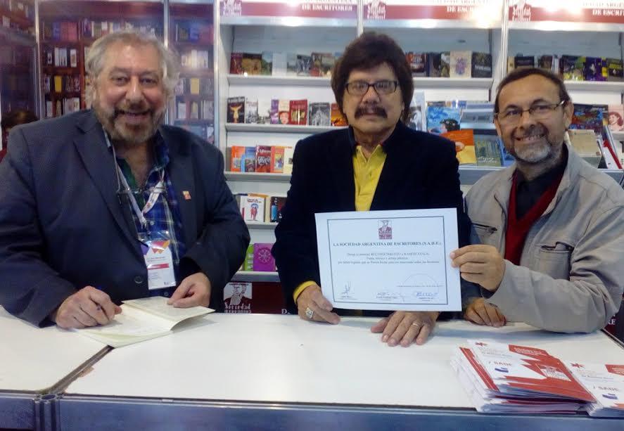 Misiones brilló en la Feria del Libro de Buenos Aires con la poesía de Ramón Ayala