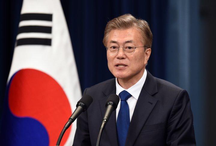 Moon admitió la «posibilidad de un conflicto militar» con Corea del Norte