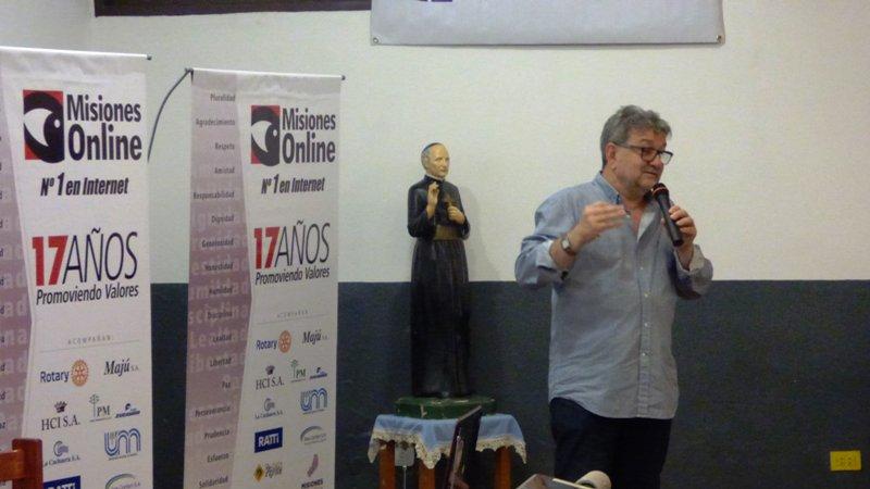 """Exitosa jornada técnica de capacitación e intercambio sobre """"Riesgo Eléctrico"""" en el Instituto Politécnico San Arnoldo Janssen"""