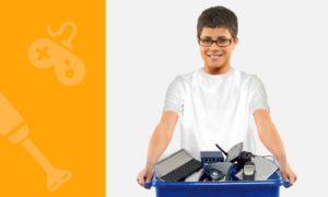 Experiencia modelo: En Málaga, las escuelas realizaron una campaña ambiental y solidaria con la recolección de residuos electrónicos