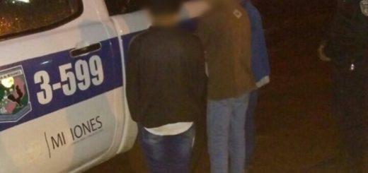 Detenidos en Oberá: Tienen entre 13 y 16 años y le robaron el celular a una chica de 14