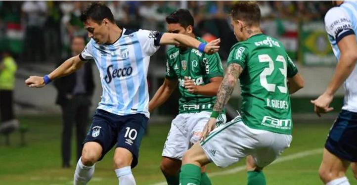 Atlético Tucumán perdió con Palmeiras y se despidió de la Libertadores