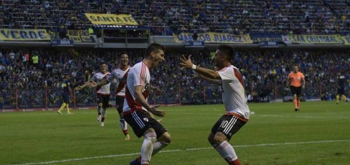 Superclásico emocionante: River venció a Boca en la Bombonera y da pelea en el campeonato