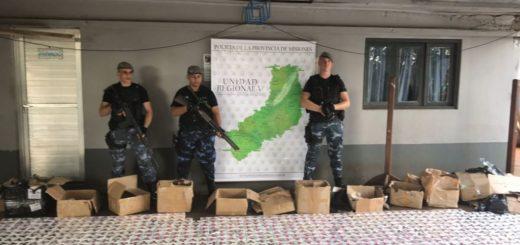 """La Policía secuestró 1.700 juguetes """"antiestrés"""" en la costa de Iguazú"""