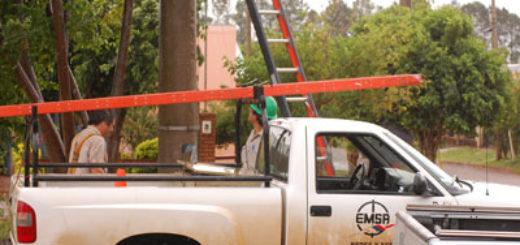Emsa reitera que hoy habría cortes de luz en varias localidades de las zonas centro y sur