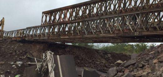Habilitaron hoy el tramo interrumpido por la caída de un puente entre Posadas y Corrientes