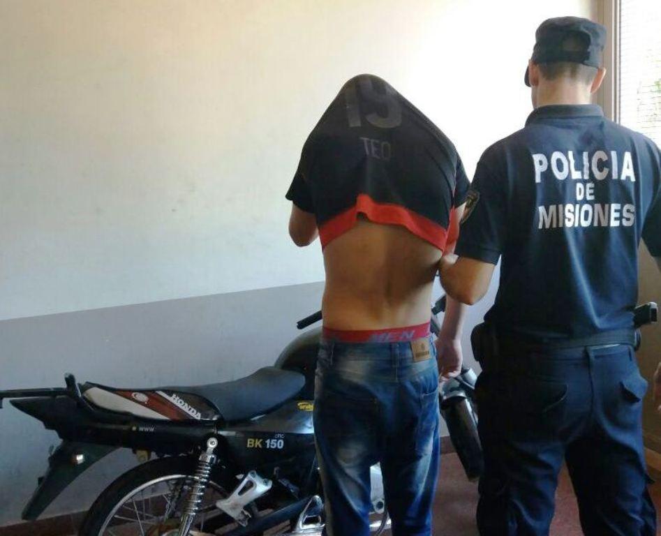 """La moto en la que delinquía """"Fantasmita"""" fue robada en marzo a un trabajador"""