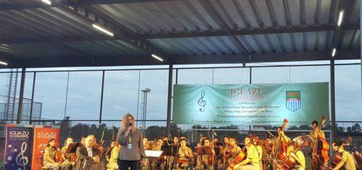 Cataratas musicales se desataron desde ayer en Misiones con Iguazú en Concierto