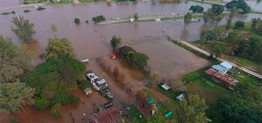 Alertan por la crecida del río Uruguay y las intensas lluvias para los próximos días en toda la región