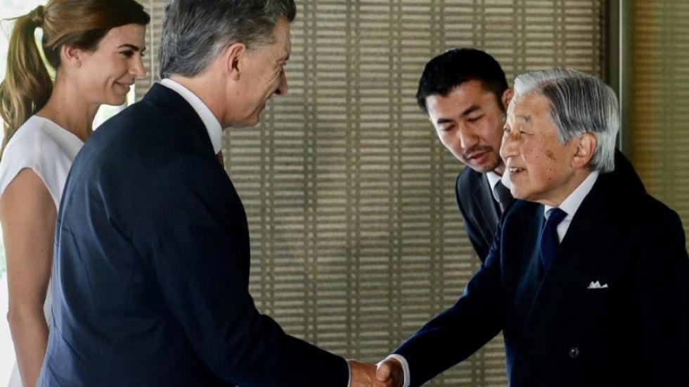 Con un encuentro con el emperador de Japón, Macri finalizó la gira asiática y vuelve al país