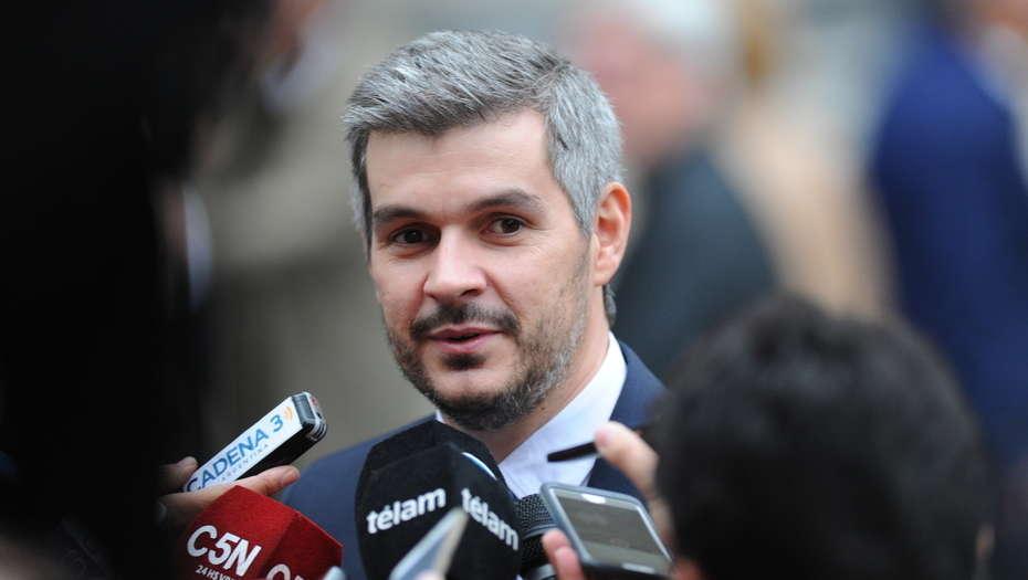 Marcos Peña dijo que el freno a la rebaja de retenciones «no está en agenda» pero que «se puede discutir»