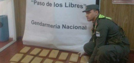 Joven de Eldorado fue detenido en Corrientes cuando llevaba una carga de marihuana