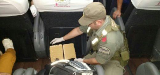 Decomisan otros 30 kilos de marihuana en distintos operativos en las afueras de Eldorado
