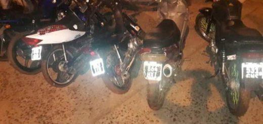 Iguazú: demoraron a adolescentes que corrían picadas con motos en las 600 Hectáreas