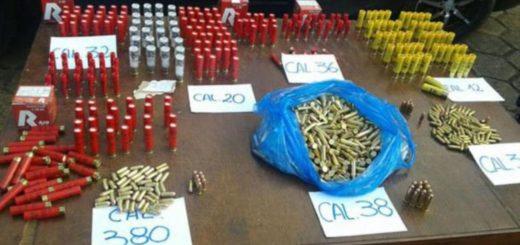 Detectan un contrabando de municiones ingresadas a Puerto Iguazú desde Paraguay