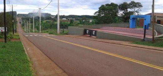 Puerto Rico: concluyó el asfaltado del acceso norte al Parque Industrial