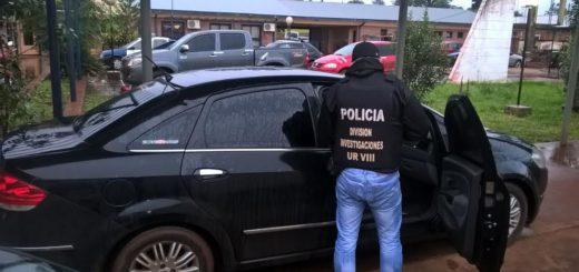 San Vicente: recuperaron un auto robado en Buenos Aires y detuvieron a su conductor