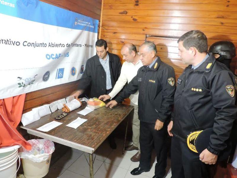 La Policía de Misiones desarmó un bunker de cocaína y capturó a banda de dealers en Garupá
