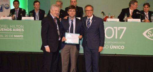 Profesor e investigador de la UCAMI, obtuvo el primer premio en trabajos científicos en el Congreso Conjunto de Oftalmología 2017