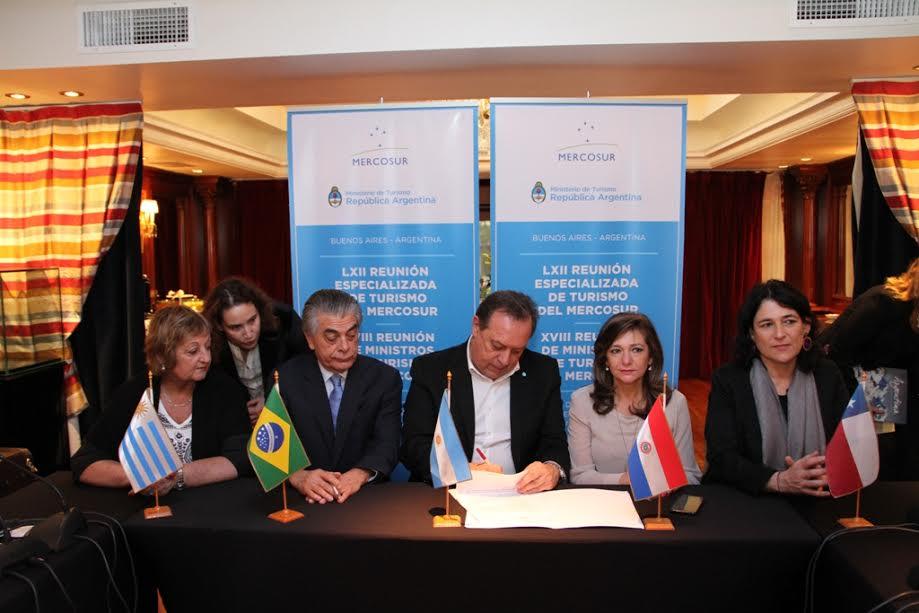 Ministros de Turismo del Mercosur reafirmaron su compromiso de trabajar en conjunto