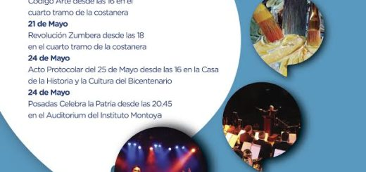 Mañana Posadas celebra la Patria en el Montoya