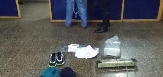 Posadas: capturaron a ladrón tras un raid delictivo