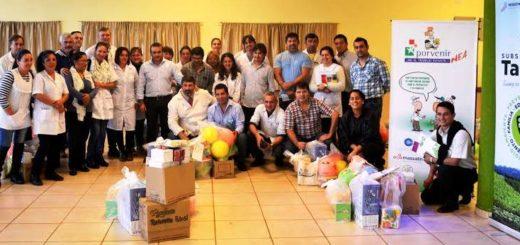 Entregaron elementos didácticos y juguetes a las escuelas rurales en San Pedro