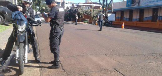 """Detenidos y varios vehículos retenidos en el operativo """"Finde Seguro"""" realizado en la Provincia"""