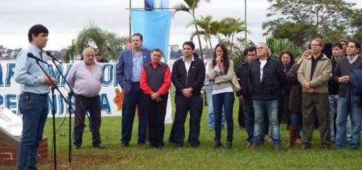 Julio César Humada tiene su propia plaza en la costanera de Posadas